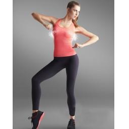 фото Майка спортивная для похудения Lytess Sport Range. Цвет: коралловый. Размер: L/XL