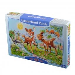 Купить Пазл 40 элементов MAXI Castorland «Маленькие олени»