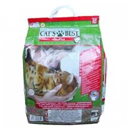 фото Наполнитель для кошачьего туалета Cat's Best Eko plus. Вес упаковки: 8,6 кг. Вместимость (в литрах): 20 л