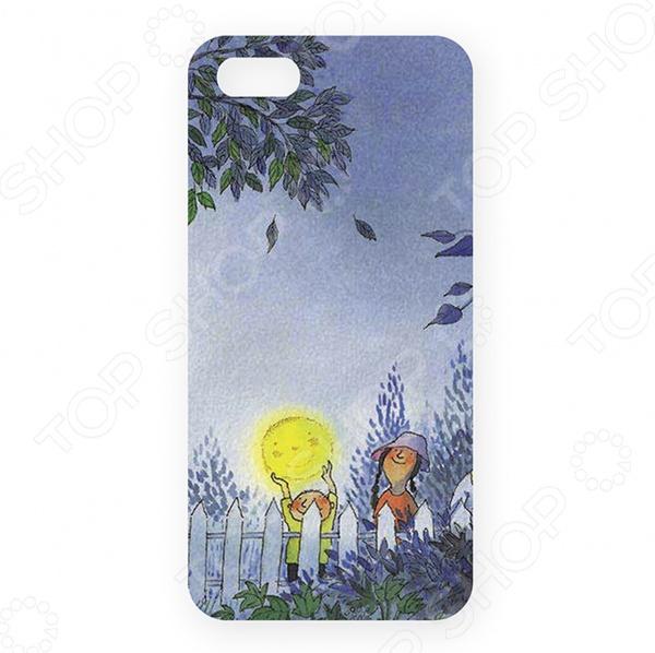 Чехол для iPhone 5 Mitya Veselkov «Луна в руках»