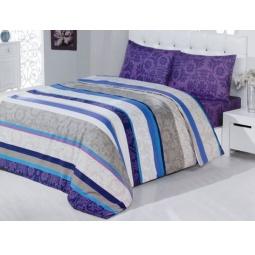 фото Комплект постельного белья Casabel Sienna. 1,5-спальный. Цвет: фиолетовый