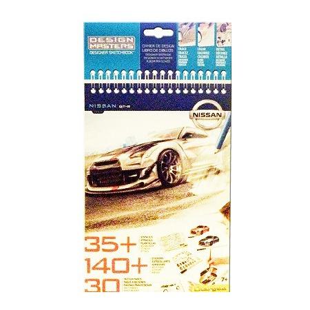 Купить Набор с эскизами и трафаретами Desing Masters Nissan GT-R