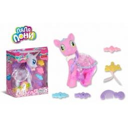 фото Набор игровой для девочки Zhorya «Ляля пони с аксессуарами». В ассортименте