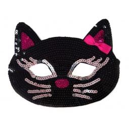 фото Маска карнавальная для девочки Новогодняя сказка «Кошка» 972138