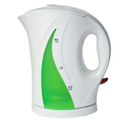 фото Чайник Delta DL-1022. Цвет: белый, зеленый
