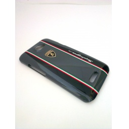 фото Чехол Lambordghini Cover Superleggera D1 для HTC One X. Цвет: серый