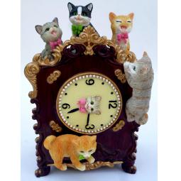 Купить Музыкальная шкатулка Crystal Deco «Часы с котятами»