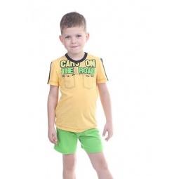 фото Комплект детский: футболка и шорты Свитанак 606496. Размер: 26. Рост: 98 см