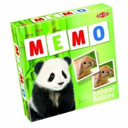 фото Игра развивающая Tactic 52676 «Мемо. Зверята 2»