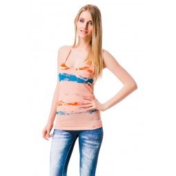 фото Майка Mondigo 8554. Цвет: оранжевый. Размер одежды: 44