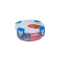 фото Контейнер для хранения продуктов Oursson Clip Fresh CP0400R. Цвет: синий