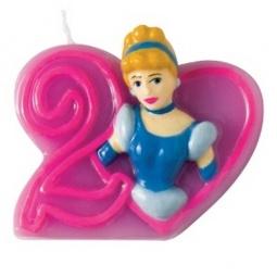 фото Свеча объемная Procos 9042 «Принцессы Дисней» 2 года