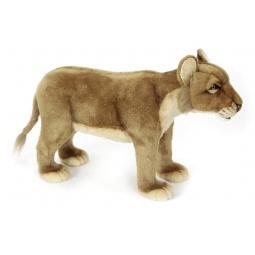 фото Мягкая игрушка для ребенка Hansa «Львица»