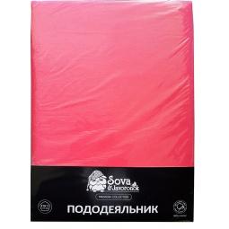 фото Пододеяльник Сова и Жаворонок Premium. Цвет: розовый. Размер пододеяльника: 200х220 см