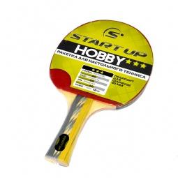 фото Ракетка для настольного тенниса Start Up Hobby 3Star с конической ручкой