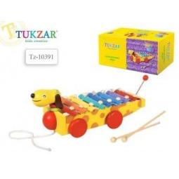 фото Музыкальный инструмент игрушечный Tukzar «Металлофон. Такса»