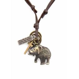 фото Кулон Mitya Veselkov «Слон и крест»