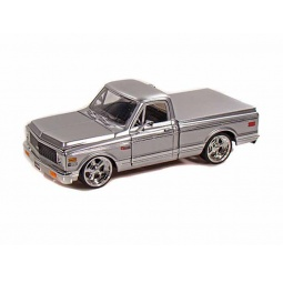 фото Модель автомобиля 1:24 Jada Toys Chevy Cheyenne Pickup. Цвет: серебристый