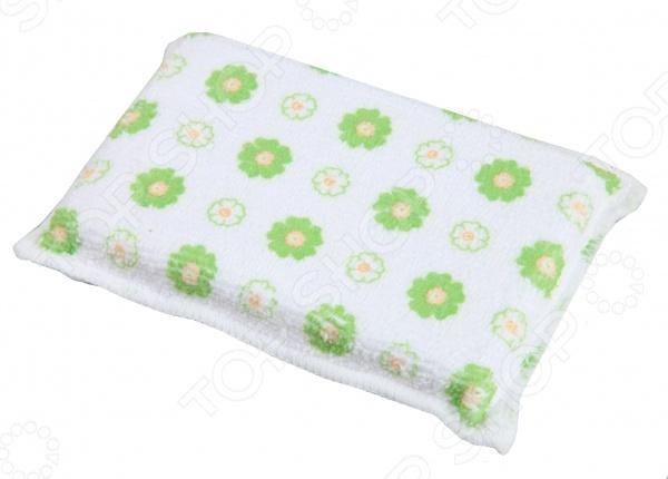 Губка для деликатной чистки Rainbow home «Цветок» губка для мытья посуды rainbow home цветок