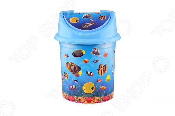 Контейнер для мусора детский Violet 0408/79 «Океан» violet 0408