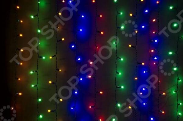 Гирлянда-занавес уличная Holiday Classics «Лас-Вегас»