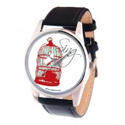 фото Часы наручные Mitya Veselkov «Птичка в клетке» MV