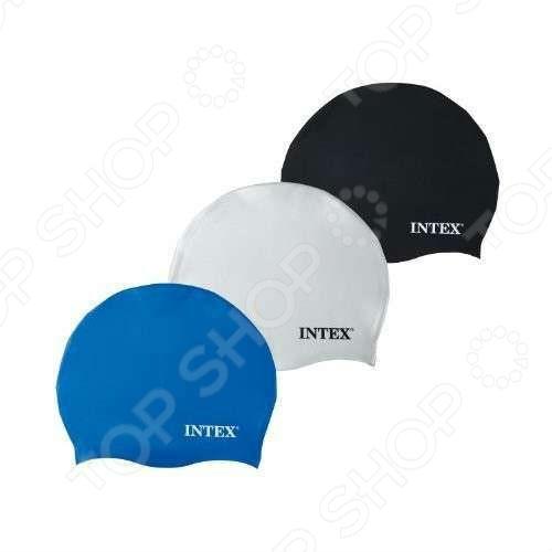 Шапочка для плавания детская Intex с55991. В ассортименте матрасы для плавания intex лодка детская 59380np
