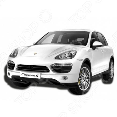 Автомобиль на радиоуправлении 1:12 KidzTech Porsche Cayenne S машины kidztech радиоуправляемый автомобиль 1 12 porsche cayenne s