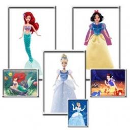 фото Кукла Mattel «Принцесса». В ассортименте