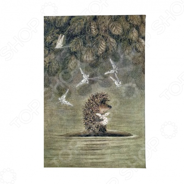 Обложка для паспорта Mitya Veselkov «Ежик плывет» обложка для паспорта кожаная mitya veselkov ежик с веточкой