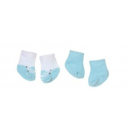 Купить Набор одежды для кукол Zapf Creation «Носочки, 2 пары» 792-285. В ассортименте