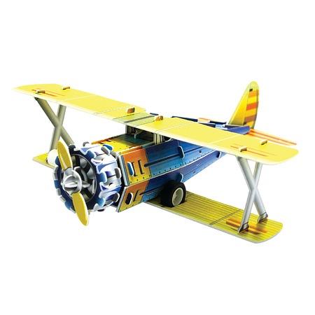 Купить 3D Пазл с моторчиком IQ Puzzle Классический истребитель F41-B