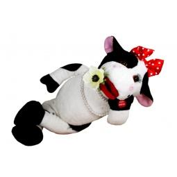 Купить Мягкая игрушка интерактивная «Буренка Очи черные»
