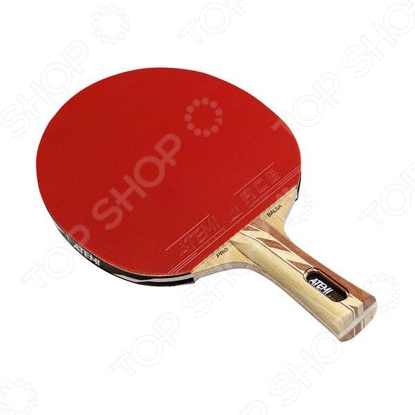 Ракетка для настольного тенниса Atemi Pro 4000 AN ракетка для настольного тенниса torneo tour plustable tennis bat ti b3000