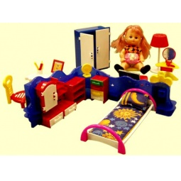 фото Набор мебели игрушечный Форма «Кристина» С-43-Ф