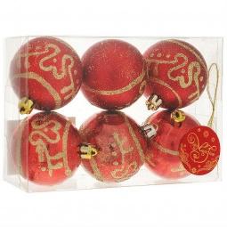 фото Набор новогодних шаров Феникс-Презент 35494
