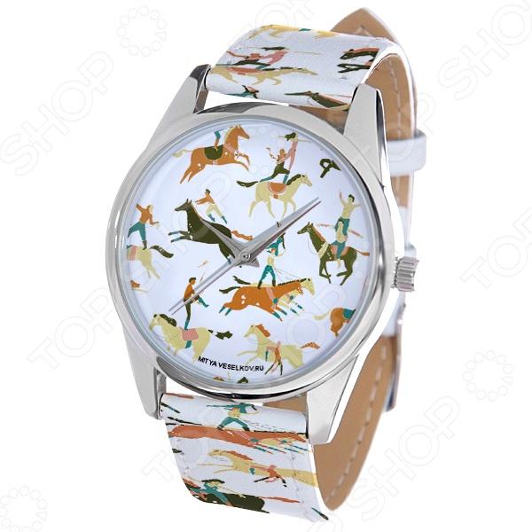 Часы наручные Mitya Veselkov «Цирковые лошади» лошади 2284