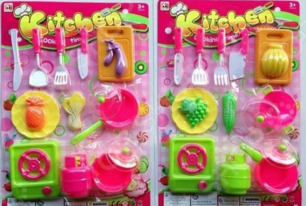 Набор посуды игрушечный Kitchen 1707340. В ассортименте Набор посуды игрушечный Kitchen 1707340. В ассортименте /