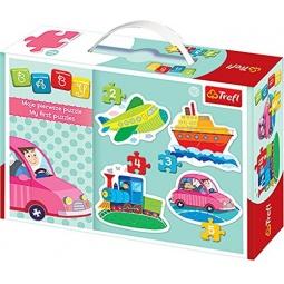 Купить Пазл для малышей Trefl «Машины»