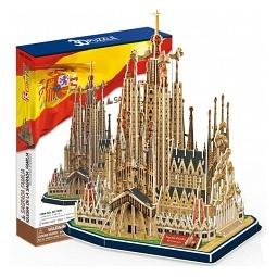 Купить Пазл 3D CubicFun «Храм Святого Семейства»