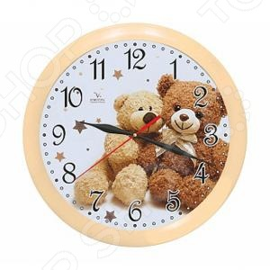 Часы настенные Вега П 1-14/7-216 «Два медвеженка» мужские часы platinor rt50800 216