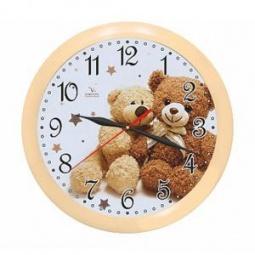 фото Часы настенные Вега П 1-14/7-216 «Два медвежонка»