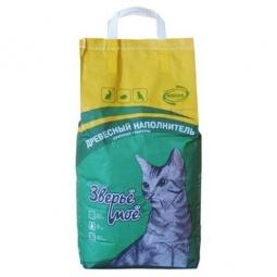 фото Наполнитель для кошачьего туалета Зверьё моё крупные гранулы