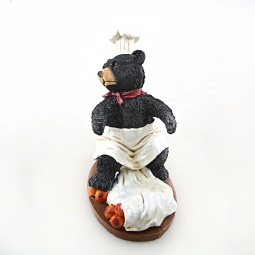 Купить Подставка для вина Drivemotion «Медведь-повар». Расположение бутылки: перед собой