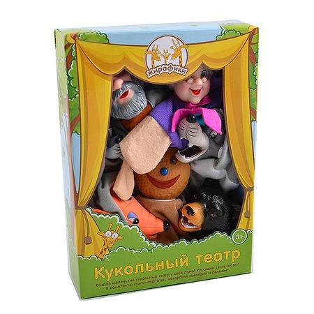 Купить Набор для кукольного театра Жирафики «Колобок» 68317
