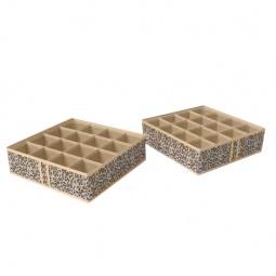 Купить Чехол для мелочей Сафари, 16 квадратных ячеек