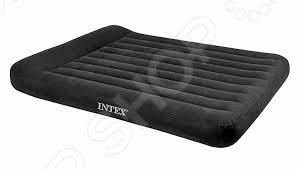 Матрас надувной с подголовником Intex 66768 Classic intex надувной матрас кемпинг