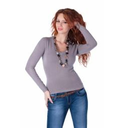 фото Джемпер Mondigo 9131. Цвет: серый. Размер одежды: 46