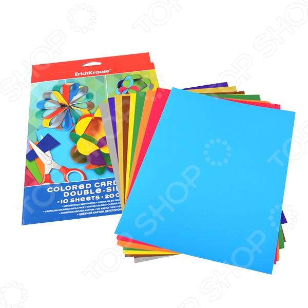 Набор картона цветного Erich Krause 37200