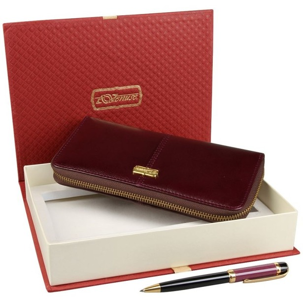 фото Набор: кошелек и ручка Venuse 76002